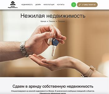 пример разработанного сайта